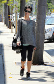 Jaimie Alexander is seen in Los Angeles on July 01 2014 in Los Angeles California