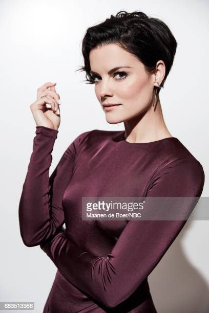 Jaimie Alexander of 'Blindspot' poses for a photo during NBCUniversal Upfront Events Season 2017 Portraits Session at Ritz Carlton Hotel on May 15...