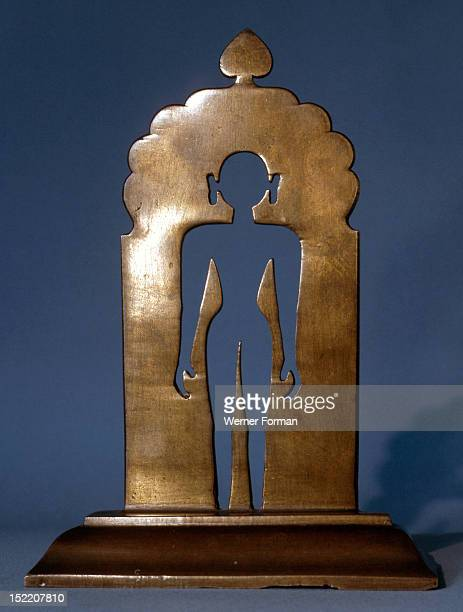 A Jain icon representing the released spirit The centre of human consciousness is empty and beyond all limiting definitions India Jain 18th century...