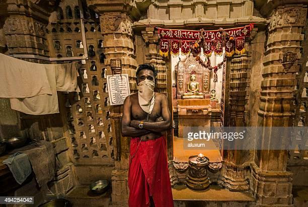 Jain-Tempel in Jaisalmer Rajasthan, Indien
