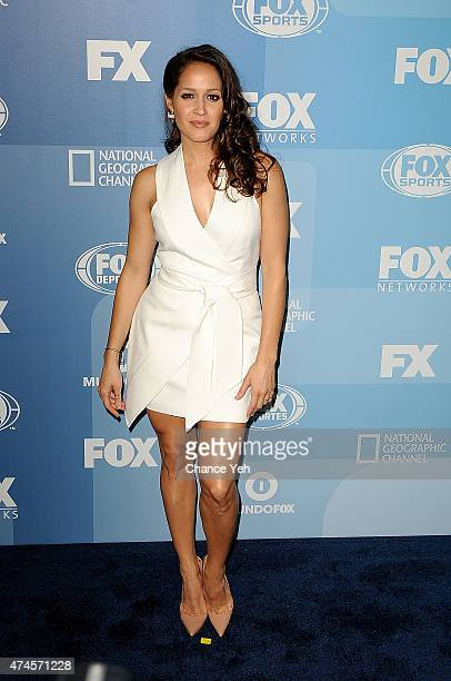 Jaina Lee Ortiz attends 2015 FOX Programming Presentation at Wollman Rink Central Park on May 11 2015 in New York City