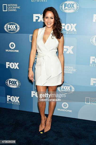 Jaina Lee Ortiz attends the 2015 FOX Programming Presentation at Wollman Rink Central Park on May 11 2015 in New York City