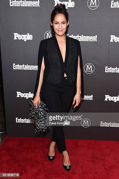 Jaina Lee Ortiz attends the Entertainment Weekly People Upfronts party 2016 at Cedar Lake on May 16 2016 in New York City