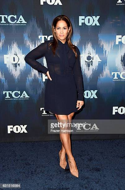 Jaina Lee Ortiz attends the FOX AllStar Party during the 2017 Winter TCA Tour at Langham Hotel on January 11 2017 in Pasadena California