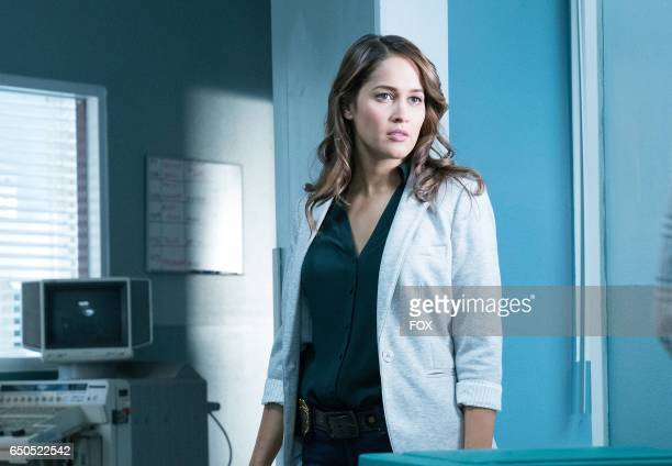 Jaina Lee Ortiz in the 'Puffer Fish Personal History' episode of ROSEWOOD airing Friday Jan 27 on FOX