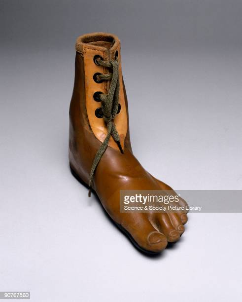 Jaipur artificial foot for Symes amputee made in India A Symes amputation is one at ankle level just above the foot The ball of the heel is retained...