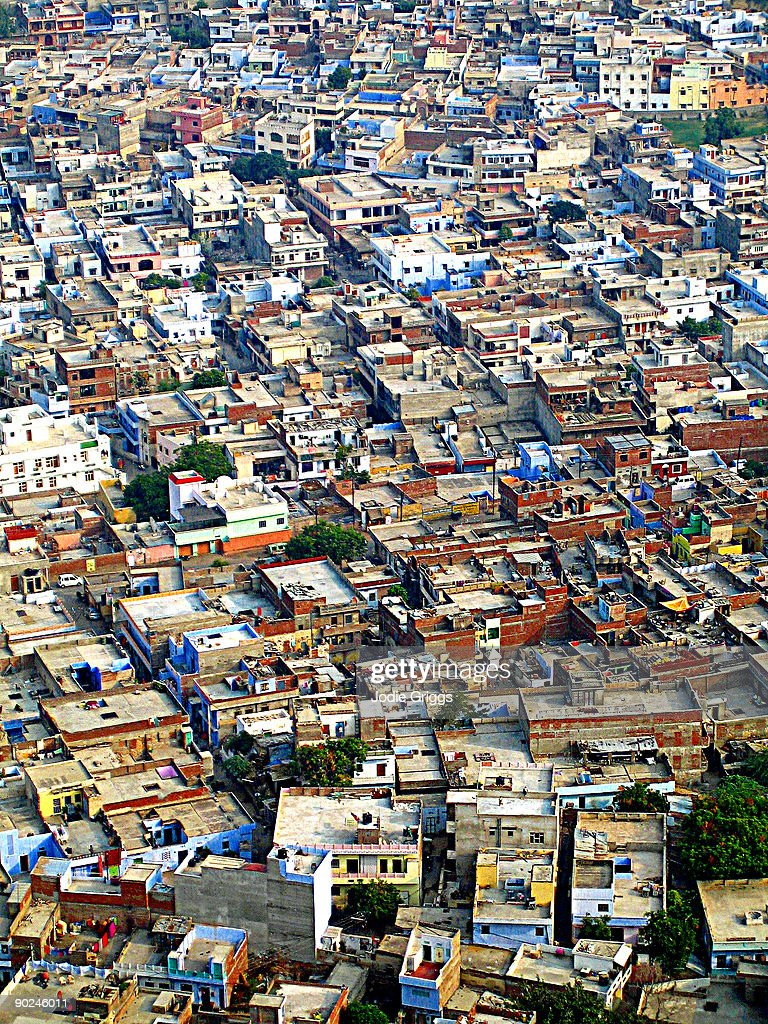 Jaipur Rooftops India : Stock Photo
