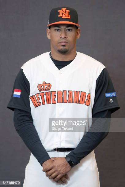 Jair Jurrjens of Team Netherlands poses for a headshot at Gocheok Sky Dome on Tuesday February 28 2017 in Seoul Korea