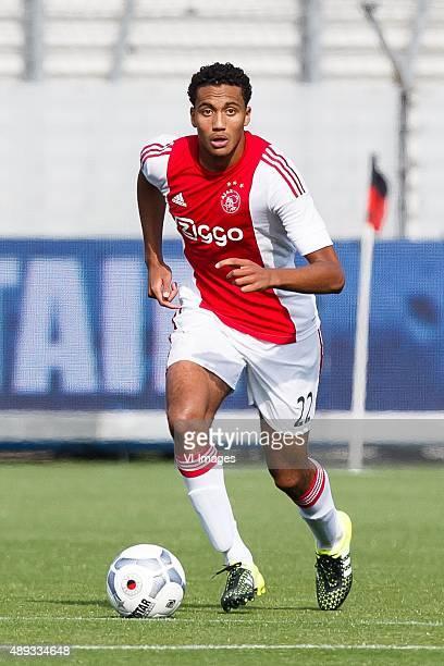 Jairo Riedewald of Ajax during the Dutch Eredivisie match between Excelsior Rotterdam and Ajax Amsterdam at Woudenstein stadium on September 20 2015...