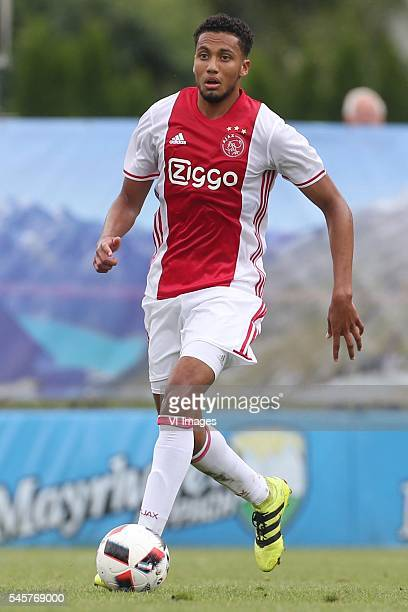 Jairo Riedewald of Ajax during the preseason friendly match between FC Liefering and Ajax Amsterdam on July 9 2016 at the Lindenstadion Lippach in...