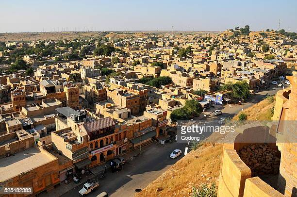 Jaisalmer city View from the fortifications