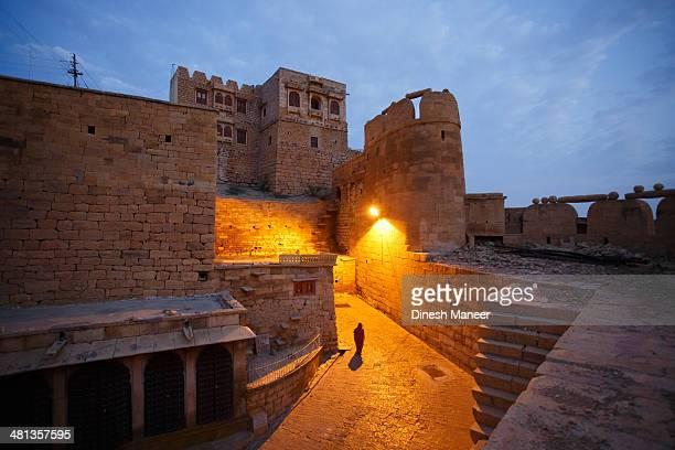 Jaisalmer fort in the morning