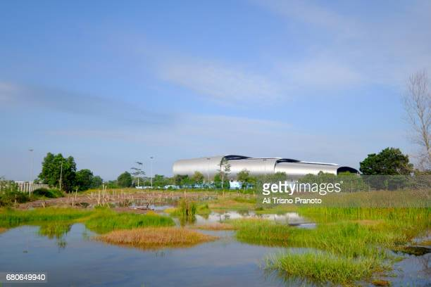 Jakabaring Aquatic Stadium, Jakabaring Stadium, Palembang
