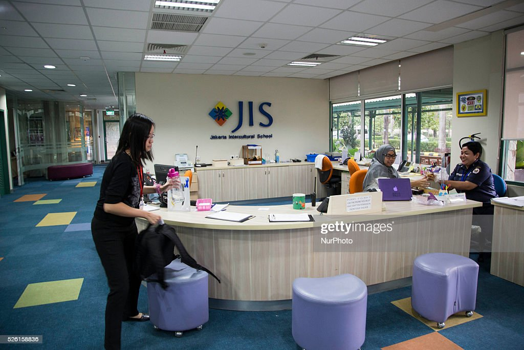 Lobby Of Jakarta Intercultural School For Kindergarten Where NEIL BANTLEMANT One The Accused Teacher Doing