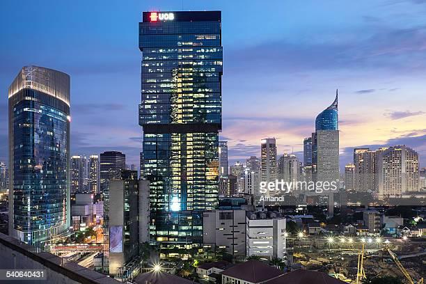 Jakarta at Dusk