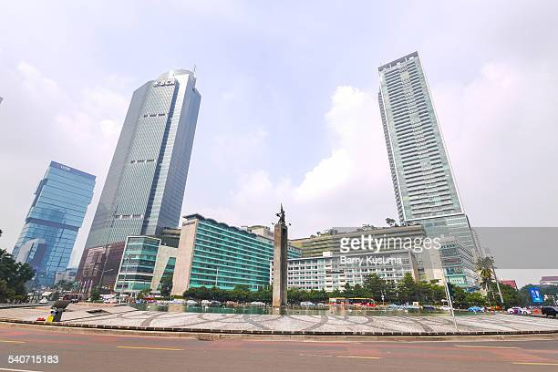 Jakarta Cityscape and Central District