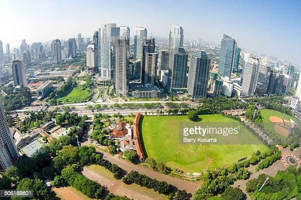 Jakarta Cityscape.