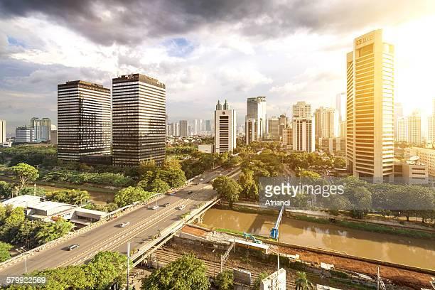 Jakarta cityscape