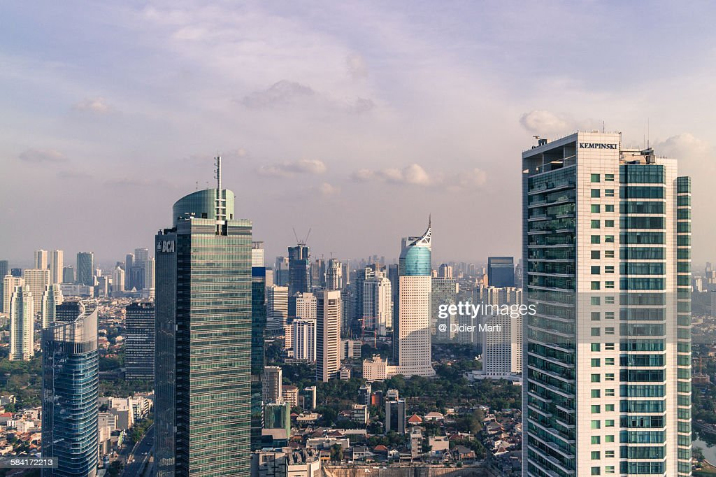 Jakarta cityscape : ストックフォト