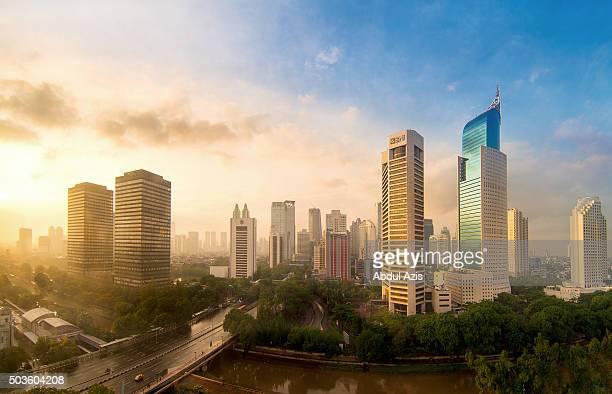 Jakarta First Sunrise in 2016