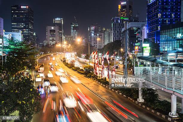 Jakarta night rush
