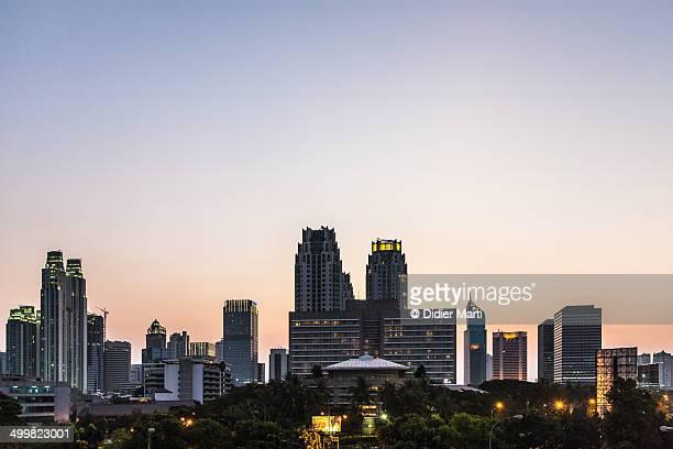Jakarta sunset