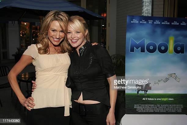 Jakckie Debatin and Charlotte Ross during 2007 Newport Beach Film Festival 'Moola' Premiere at Lido Regency Theatre in Newport Beach California...