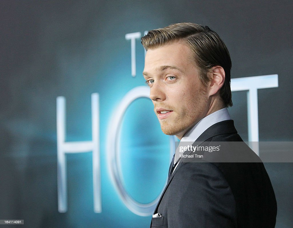 <a gi-track='captionPersonalityLinkClicked' href=/galleries/search?phrase=Jake+Abel&family=editorial&specificpeople=4684398 ng-click='$event.stopPropagation()'>Jake Abel</a> arrives at the Los Angeles premiere of 'The Host' held at ArcLight Cinemas Cinerama Dome on March 19, 2013 in Hollywood, California.