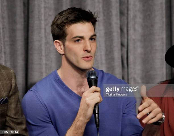 Jake Allyn attends SAGAFTRA Foundation's Conversations with 'The Quad' at SAGAFTRA Foundation Screening Room on March 20 2017 in Los Angeles...