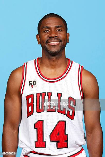 Jake Anderson of the Chicago Bulls poses for a portrait during Media Day on September 28 2015 at the Advocate Center in Chicago Illinois NOTE TO USER...