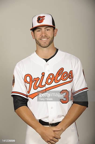 Jake Arrieta of the Baltimore Orioles poses during Photo Day on Thursday March 1 2012 at Ed Smith Stadium in Sarasota Florida