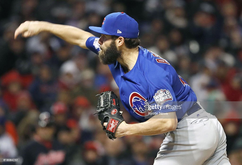 Image result for 2016 world series game 2 jake arrieta