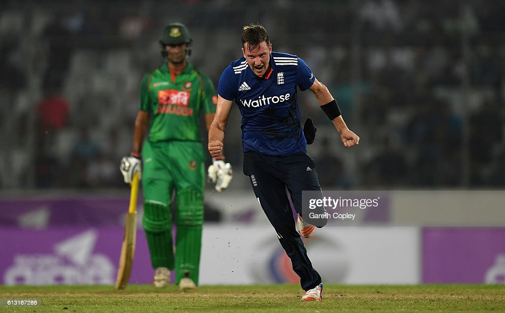 Bangladesh v England - 1st One Day International