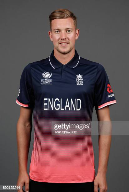 Jake Ball of England poses for a portrait during the England Portrait session for the ICC Champions Trophy at Grange City on May 30 2017 in London...
