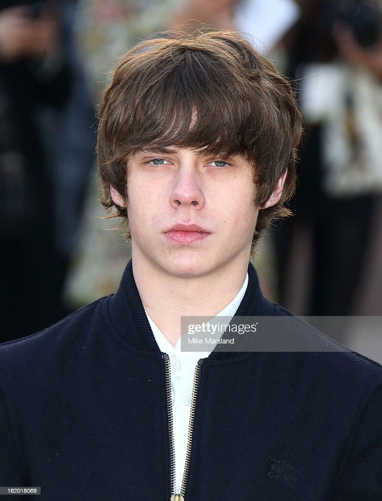 Jake Bugg attends the Burberry Prorsum show during London Fashion Week Fall/Winter 2013/14 at on February 18, 2013 in London, England.