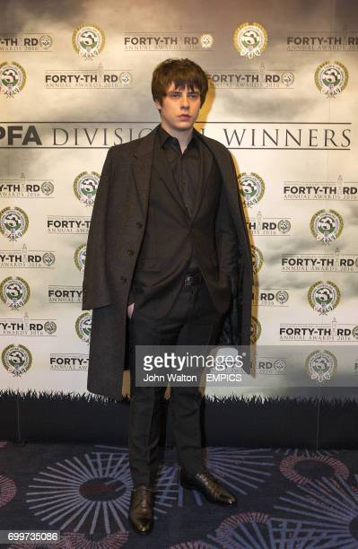 Jake Bugg during the PFA Awards at the Grosvenor House Hotel London