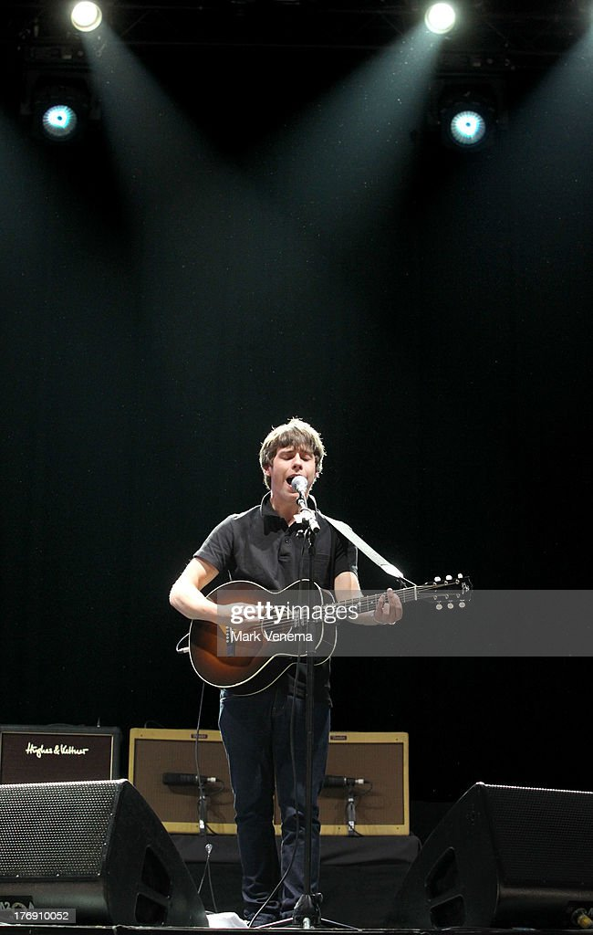 <a gi-track='captionPersonalityLinkClicked' href=/galleries/search?phrase=Jake+Bugg&family=editorial&specificpeople=9148742 ng-click='$event.stopPropagation()'>Jake Bugg</a> performs at day 3 of the Lowlands Festival on August 18, 2013 in Biddinghuizen, Netherlands.