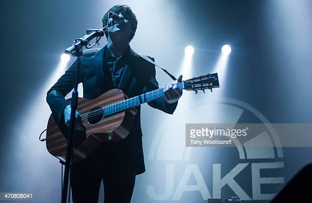 Jake Bugg performs at Nottingham Capital FM Arena on February 20 2014 in Nottingham England
