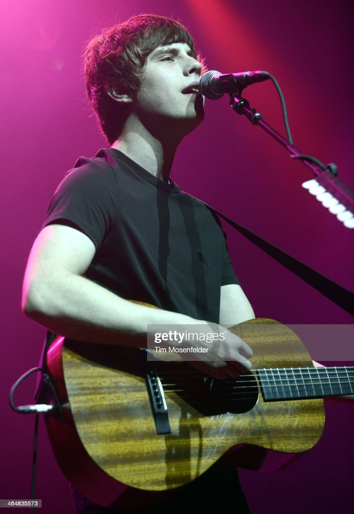 Jake Bugg performs in support of his Shangri La release at The Fox Theatre on January 23 2014 in Oakland California