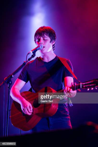 Jake Bugg performs on Day 2 of Benicassim Music Festival on July 18 2014 in Benicasim Spain