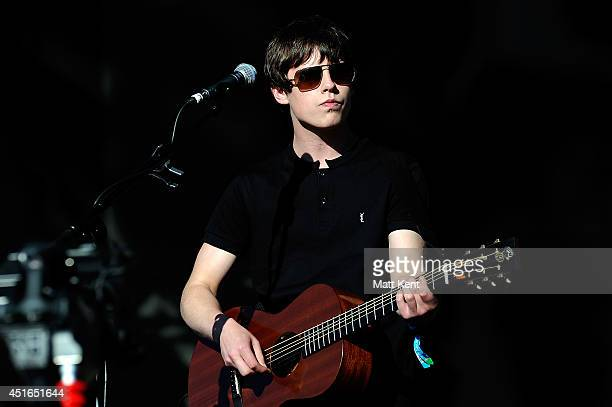 Jake Bugg performs on stage at British Summer 2014 at Hyde Park in London United Kingdom