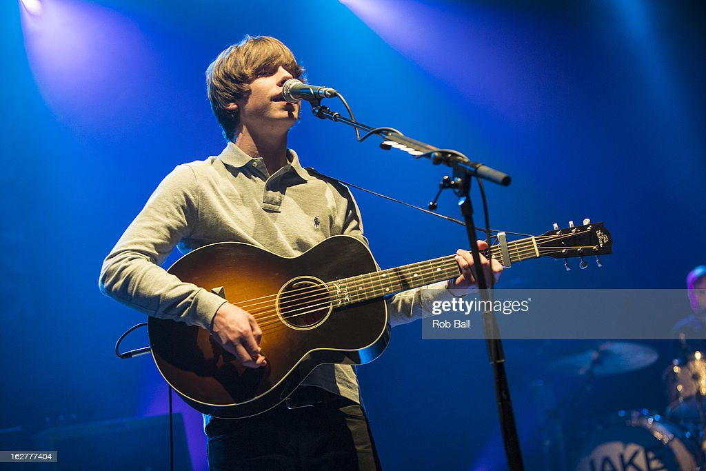 <a gi-track='captionPersonalityLinkClicked' href=/galleries/search?phrase=Jake+Bugg&family=editorial&specificpeople=9148742 ng-click='$event.stopPropagation()'>Jake Bugg</a> performs on stage at Southampton Guildhall on February 26, 2013 in Southampton, England.