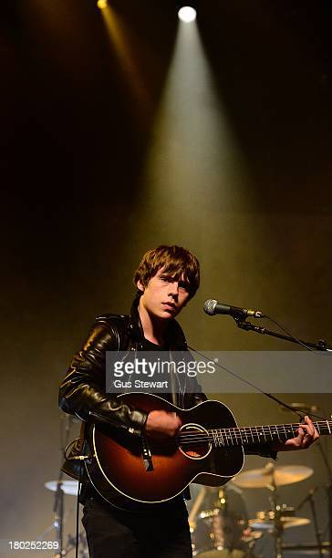 Jake Bugg performs on stage on Day 10 of iTunes Festival 2013 at The Roundhouse on September 10 2013 in London England