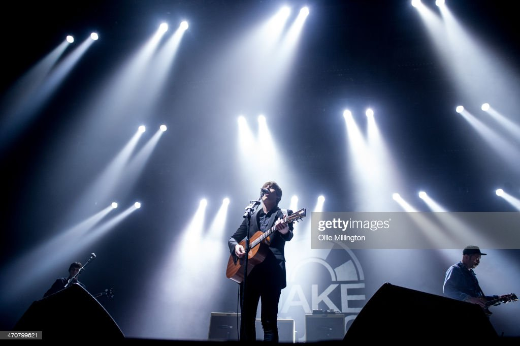 <a gi-track='captionPersonalityLinkClicked' href=/galleries/search?phrase=Jake+Bugg&family=editorial&specificpeople=9148742 ng-click='$event.stopPropagation()'>Jake Bugg</a> performs on the opening night of his UK tour to a home city crowd on stage at Nottingham Capital FM Arena on February 20, 2014 in Nottingham, United Kingdom.