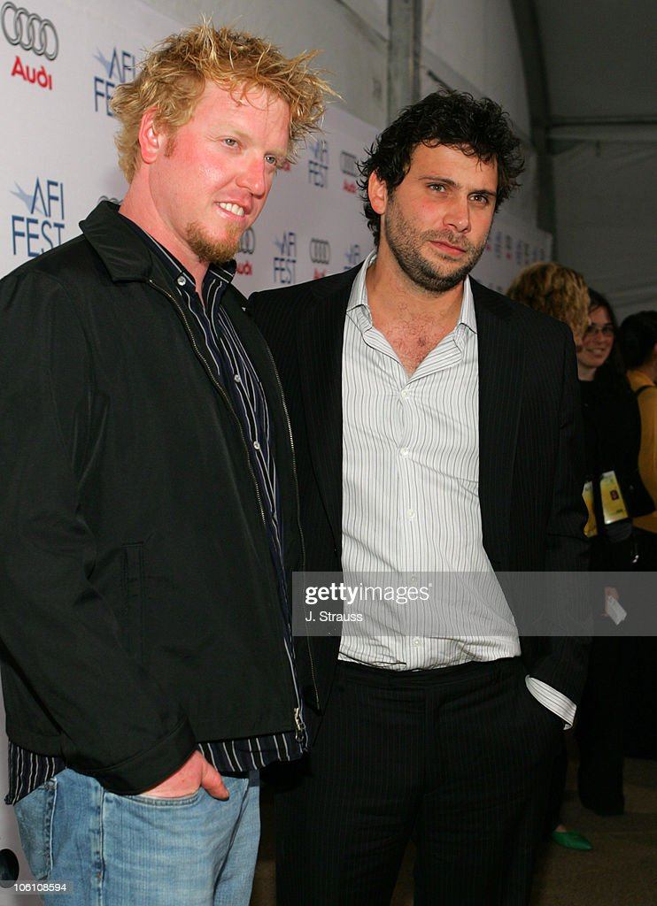 Jake Busey and Jeremy Sisto during AFI Fest 2006 Presented by Audi Presents 'Broken' Arrivals at Arclight in Hollywood California United States