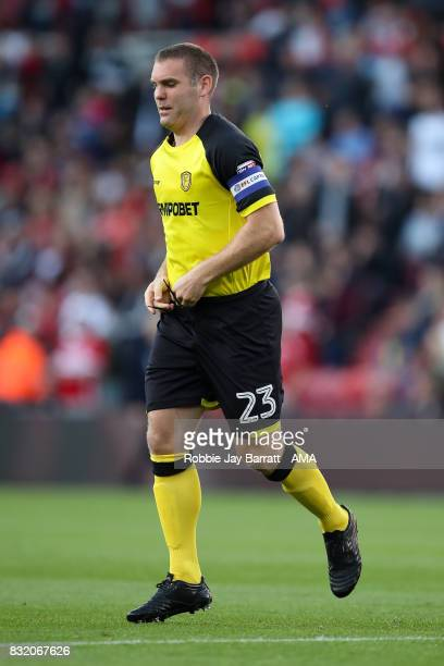 Jake Buxton of Burton Albion during the Sky Bet Championship match between Middlesbrough and Burton Albion at Riverside Stadium on August 15 2017 in...