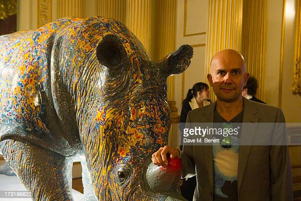 Jake Champman attends The Elephant Family presents 'The Animal Ball' at Lancaster House on July 9 2013 in London England