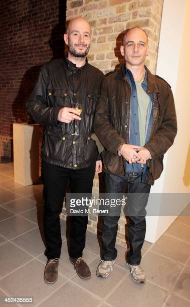 Jake Chapman and Dinos Chapman attend the patron's private view of 'Jake and Dinos Chapman Come and See' a new exhibition at The Serpentine Sackler...