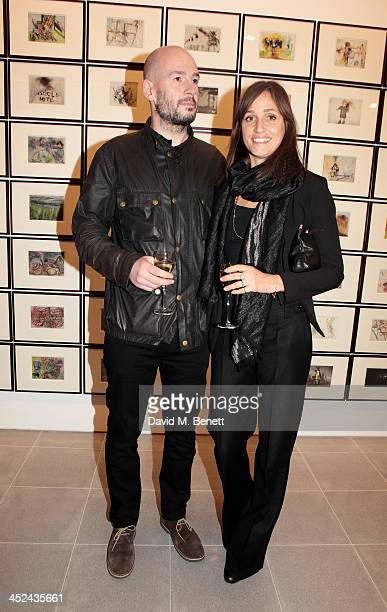 Jake Chapman and Rosemary Ferguson attend the patron's private view of 'Jake and Dinos Chapman Come and See' a new exhibition at The Serpentine...