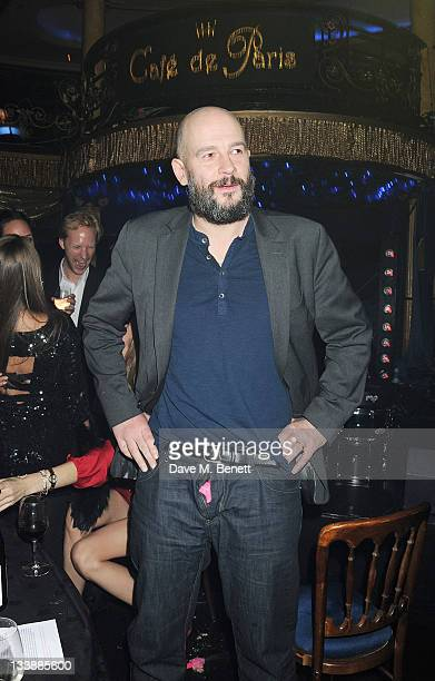 Jake Chapman attends The Hoping Variety Show A Benefit Evening For Palestinian Refugee Children at Cafe de Paris on November 21 2011 in London England